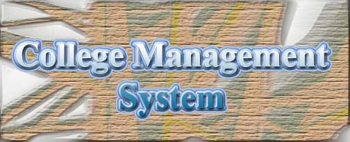 college management system project vb