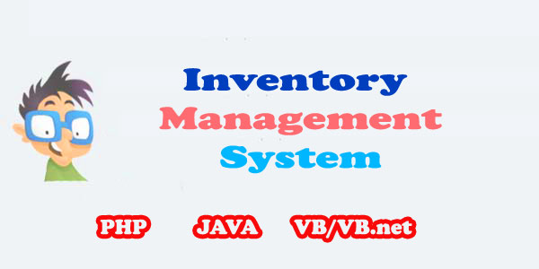 college inventory management system project java php vb net control
