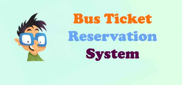 online bus reservation system project