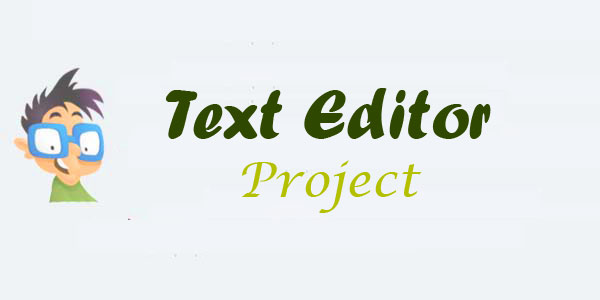 text editor in java source code