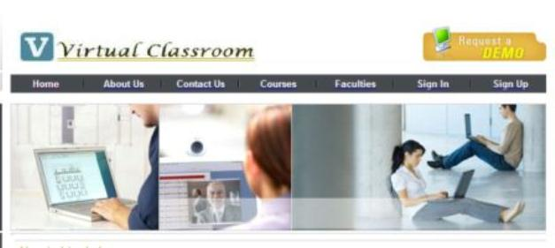 virtual classroom project documentation abstract report asp.net