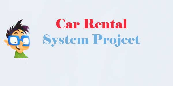 online car rental system project