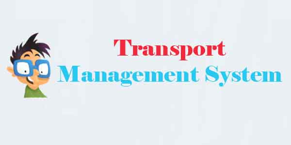 Transport Management System Project | CodeCreator org