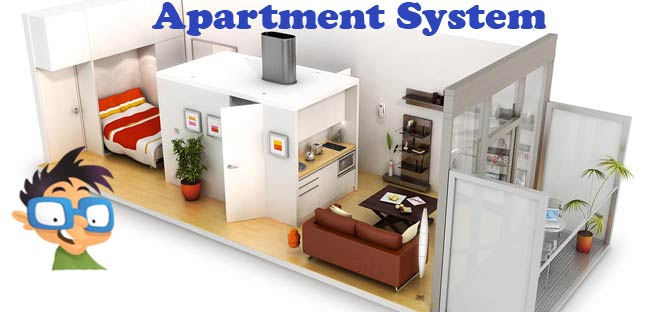 apartment management system project in php